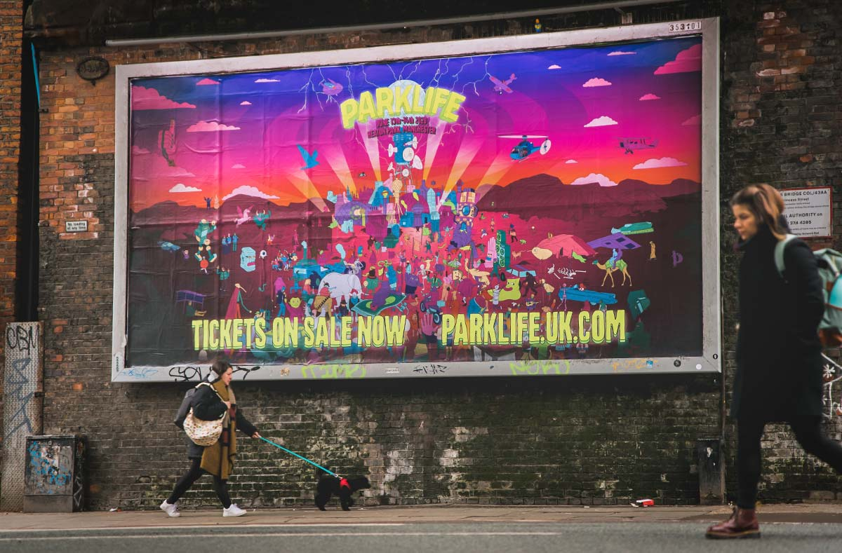 Punchy graphics hit the spot for Parklife 2020
