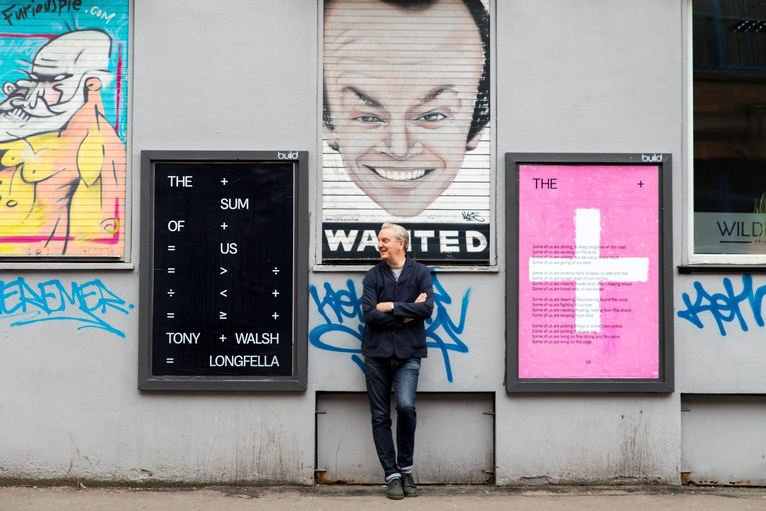The Sum of Us – new Tony Walsh poem displayed in the heart of the Northern Quarter