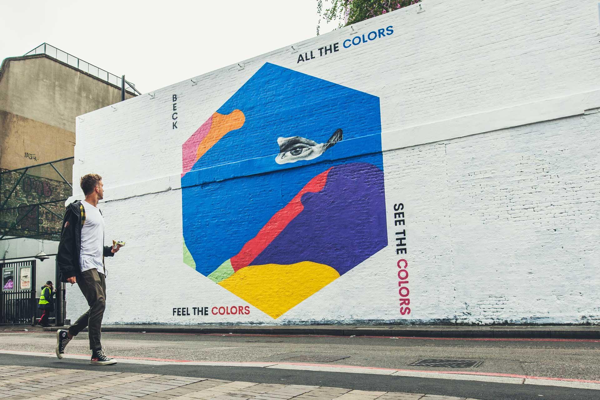 Beck: Colors - Mural - DIABOLICAL