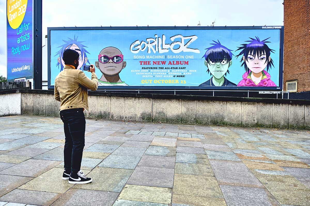 Gorillaz: Song Machine, Season One: Strange Timez - Street Posters - DIABOLICAL