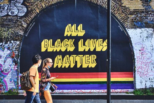 "Magda Kaggwa's ""All Black Lives Matter"" message hits the streets"
