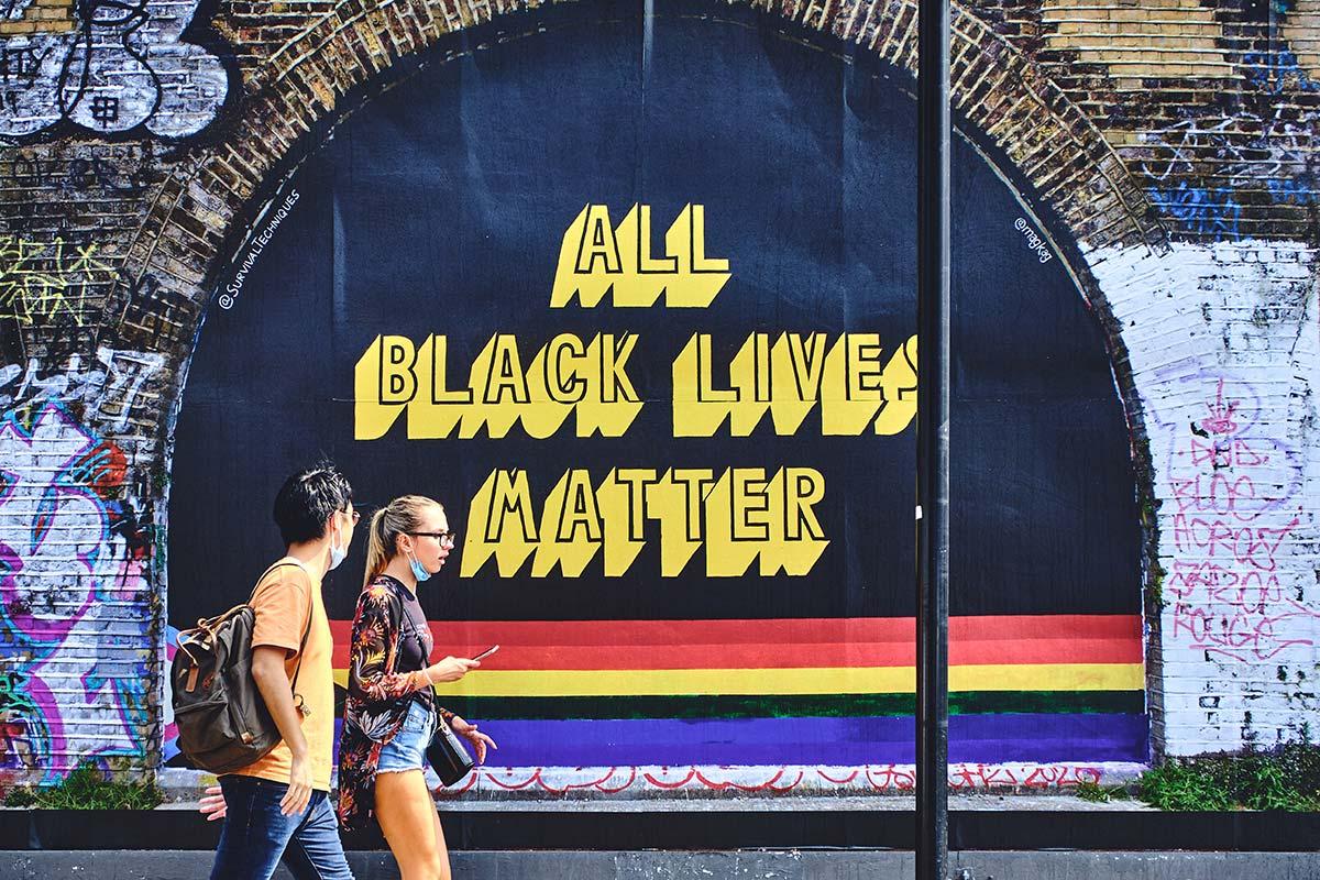"Magda Kaggwa's ""All Black Lives Matter"" message hits the streets"