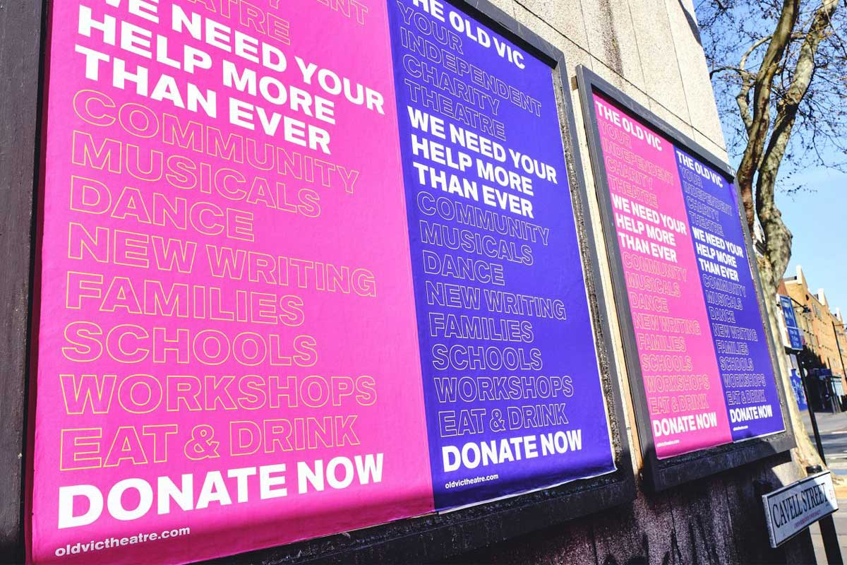 The Old Vic – Fundraising campaign