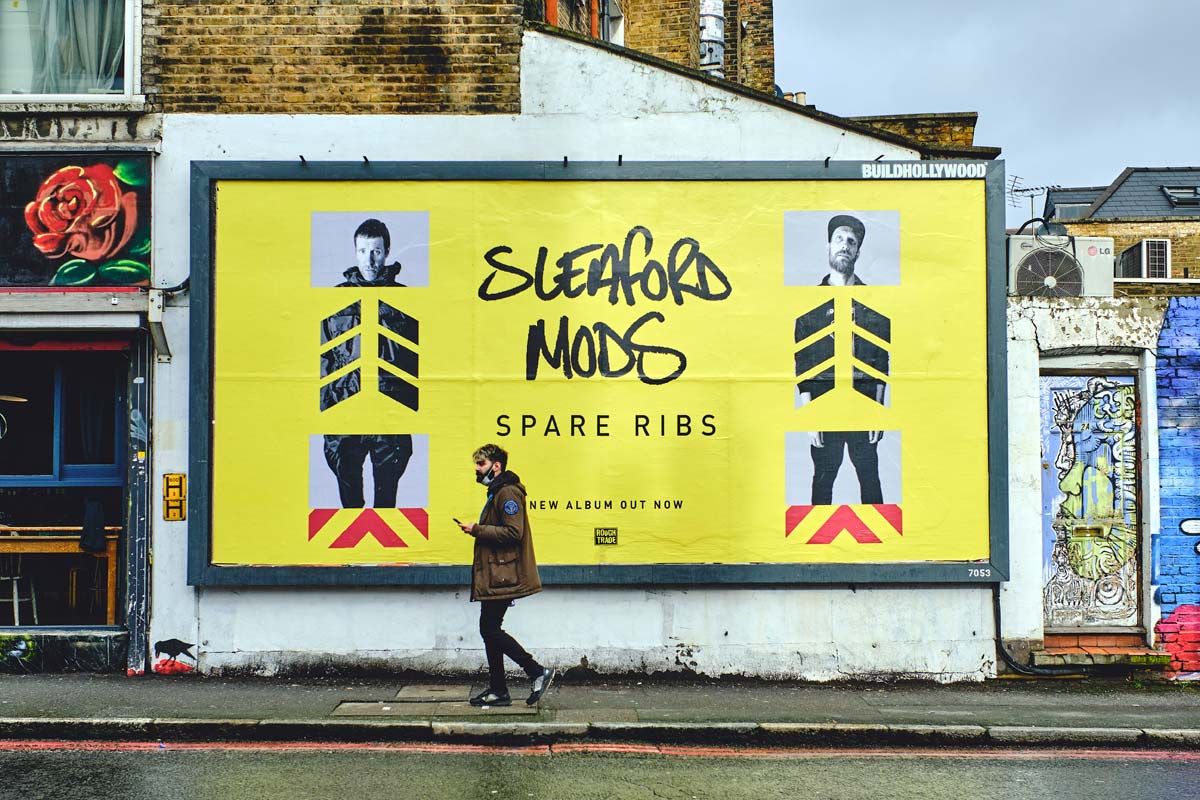 Sleaford Mods: Spare Ribs - DIABOLICAL