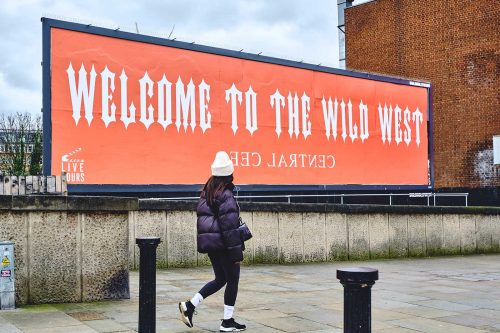 Central Cee hits up our sites in West London for latest 'Wild West' mixtape drop