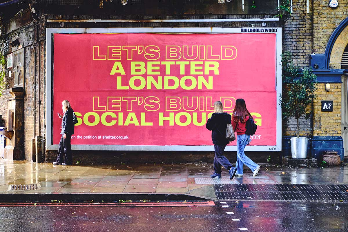 Shelter: Social housing campaign