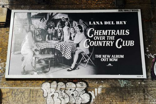 Lana Del Rey: Chemtrails Over the Country Club - Street posters - DIABOLICAL