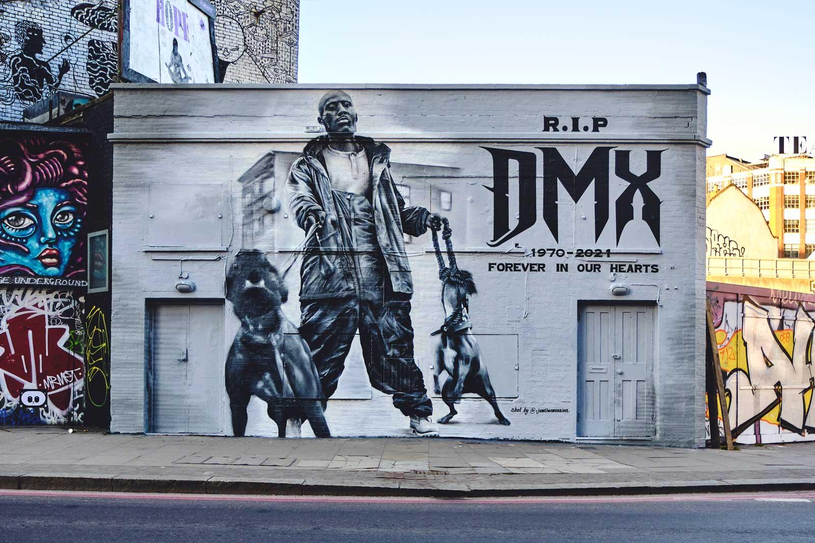 DMX - mural - DIABOLICAL