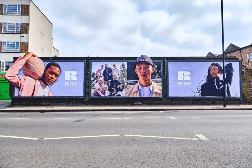 BOSS x Russell Athletic - Creative billboards - JACK