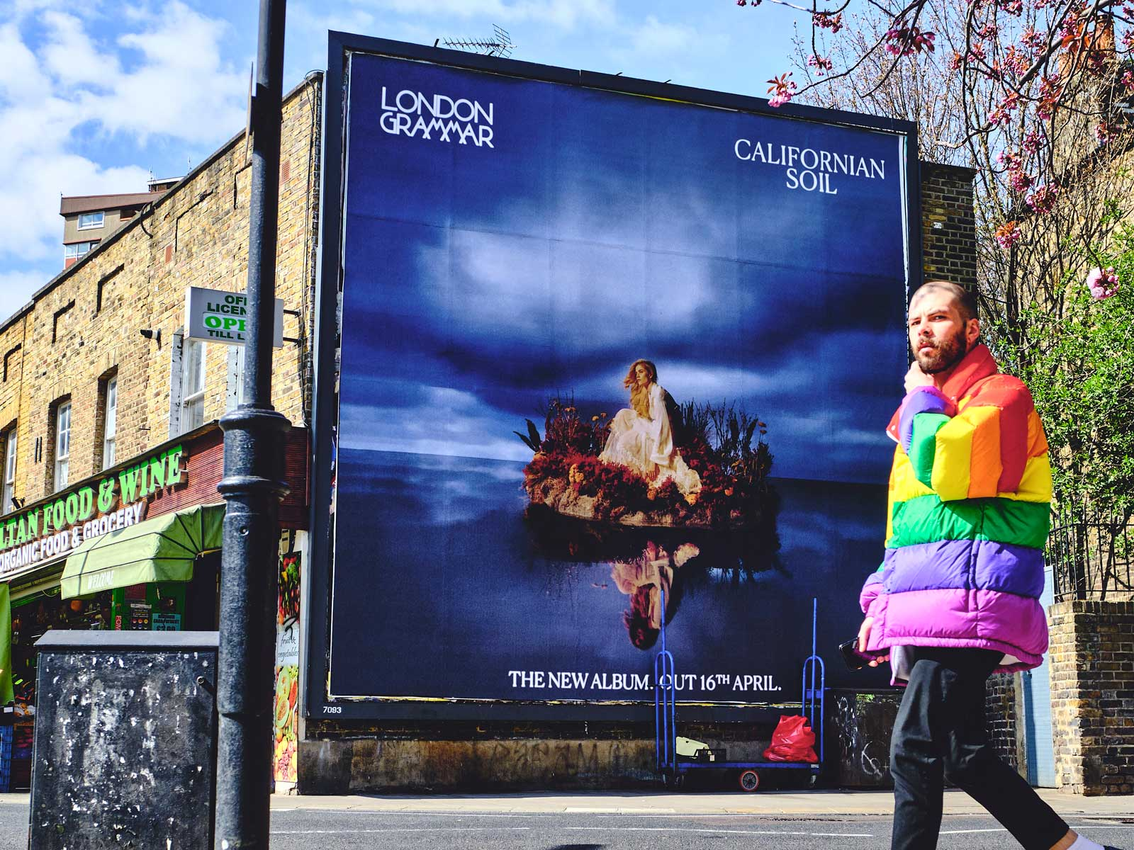 London Grammar: Californian Soil - Street posters - DIABOLICAL