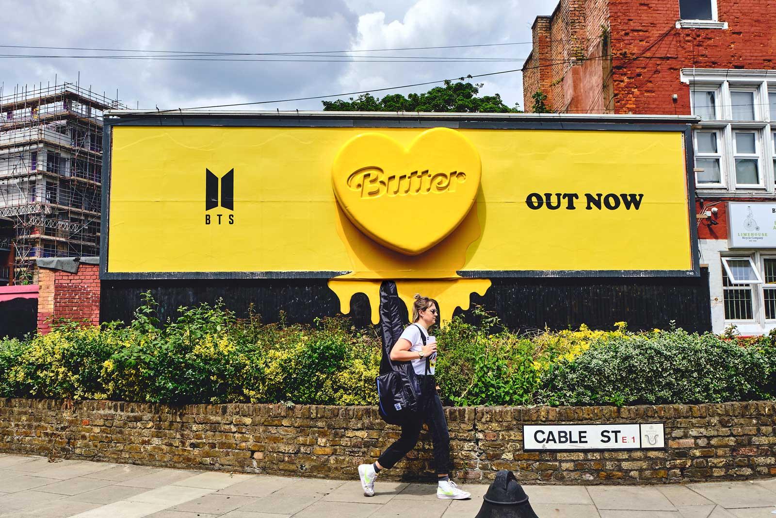 BTS: Butter