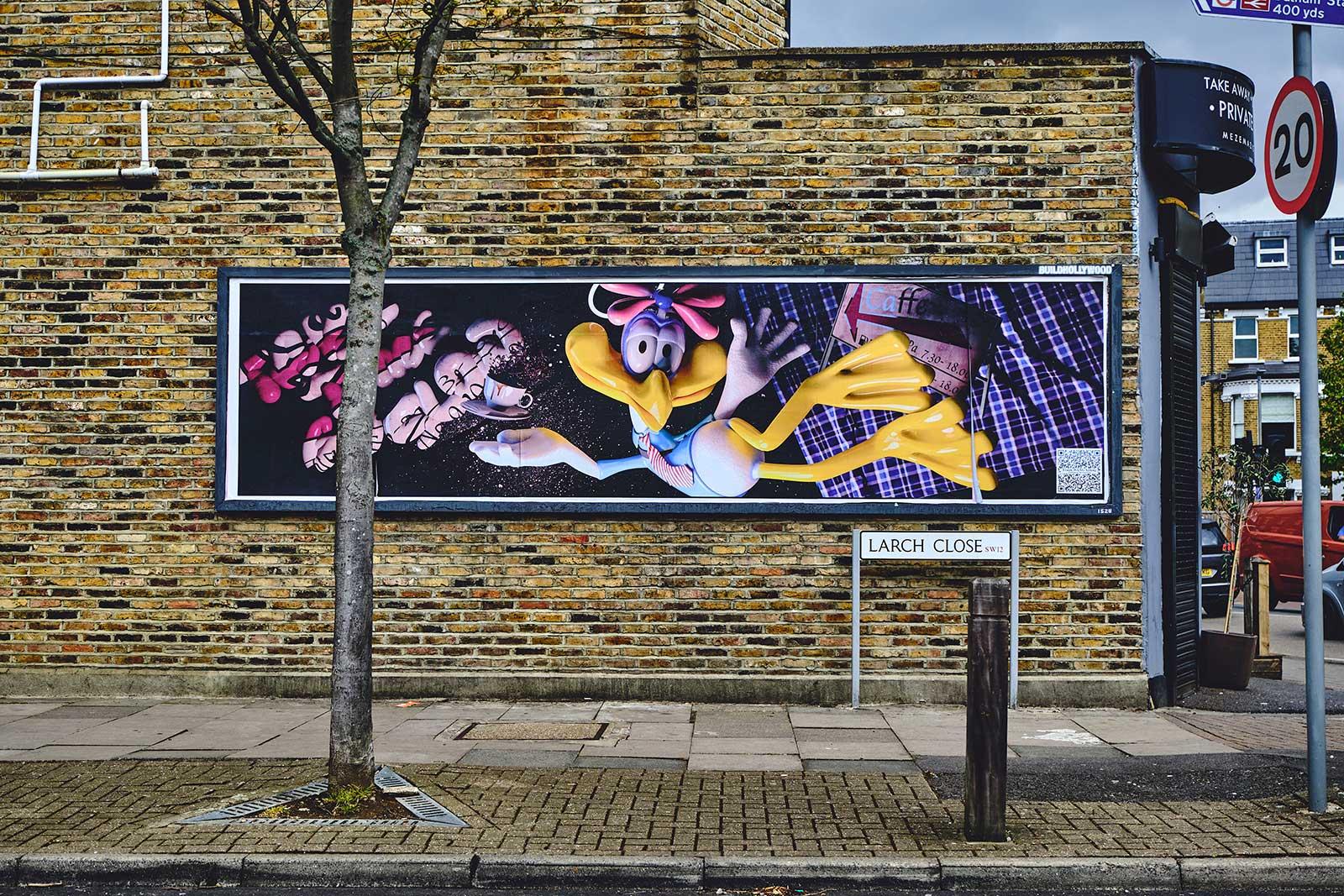 Fulfilment Services Ltd disseminate contemporary art across the capital