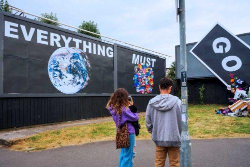 Everything Must Go - Vangard Street Art and Ke