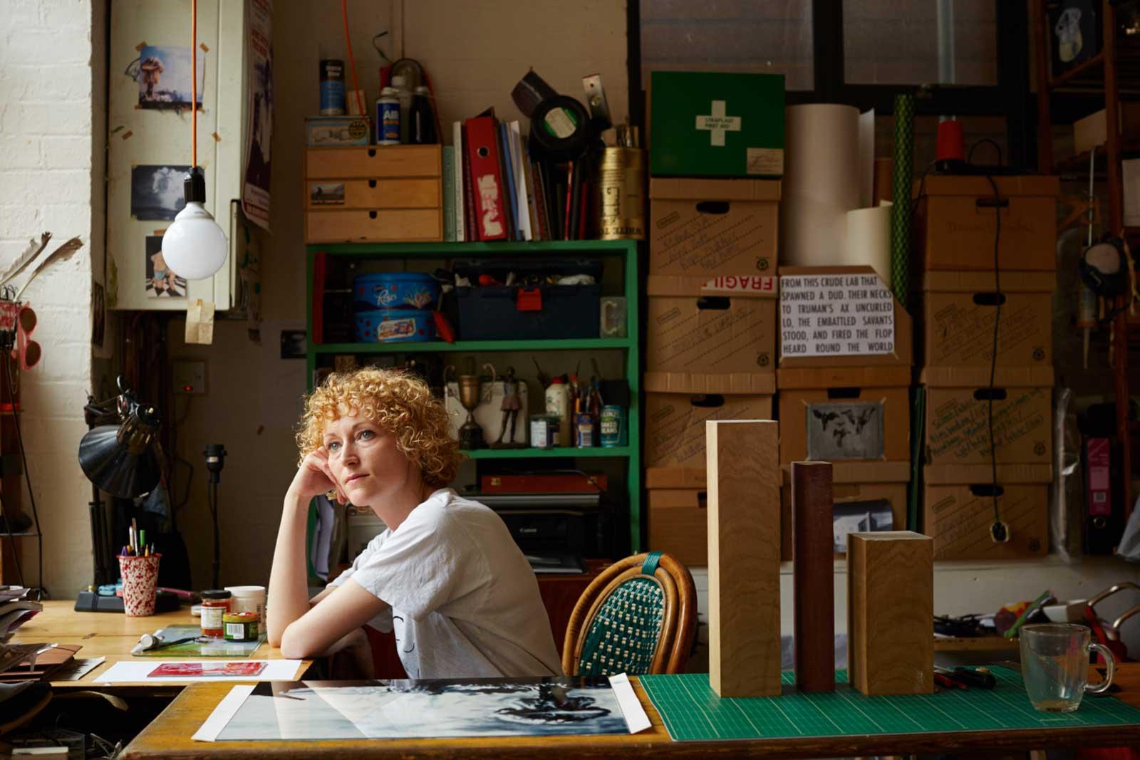 Kirsty Harris, Artist - Hackney Studios, Jenny Lewis