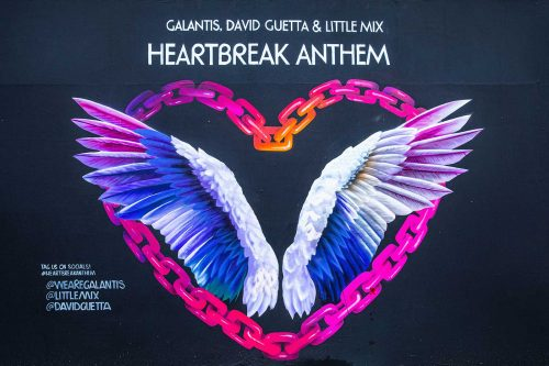 David Guetta, Galantis & Little Mix: Heartbreak Anthem