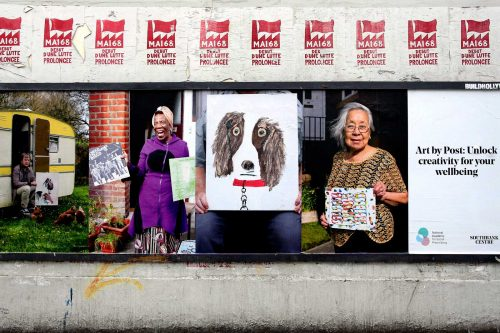 Southbank Centre: Art by Post: Of Home and Hope